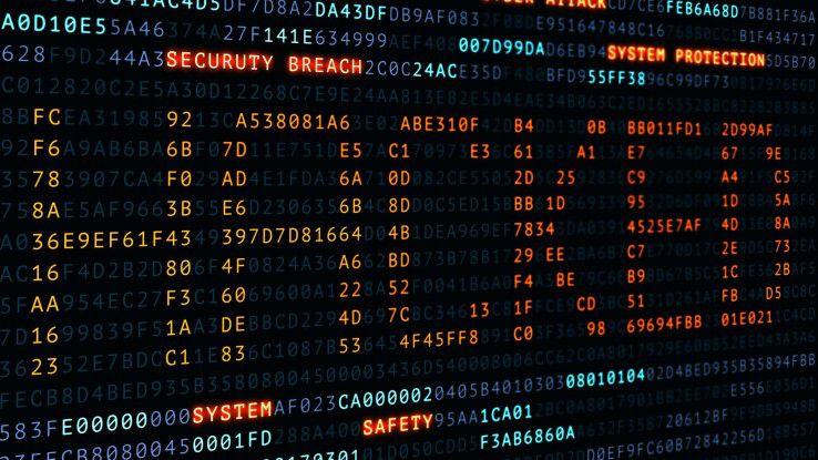 Ganz so einfach wie auf dem Bild ist es nicht. Mehr als ein Drittel der befragten Unternehmen gaben an, über einen Monat zu brauchen, bis sie einen Cyber-Einbruch erkennen.