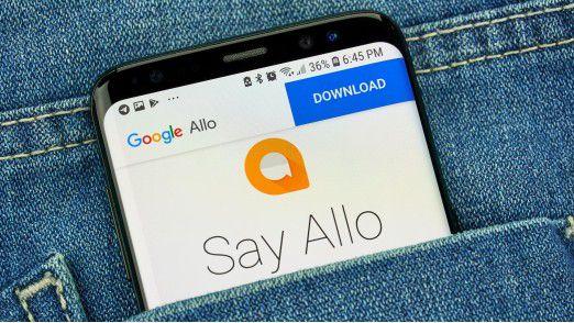 Die Google App Allo ist Geschichte.
