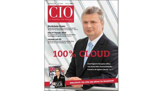 Das neue CIO-Magazin Januar/Februar 2019.