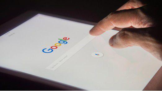 Die Google-Suche liefert Tag und Nacht Antworten.