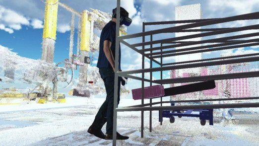 BMW Group gestaltet mit Virtual Reality künftige Arbeitsplätze in der Produktion