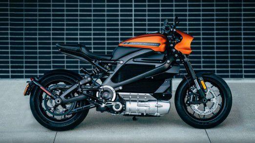 Die Harley-Davidson LiveWire treibt ein Elektromotor an.
