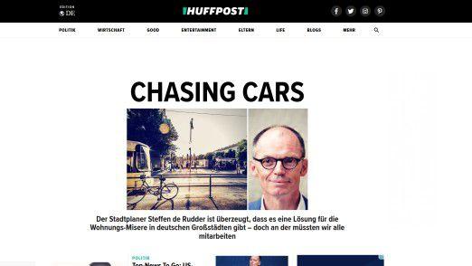 """Eine Plattform zum Vergessen: """"HuffPost"""" fiel nie durch guten Journalismus auf."""