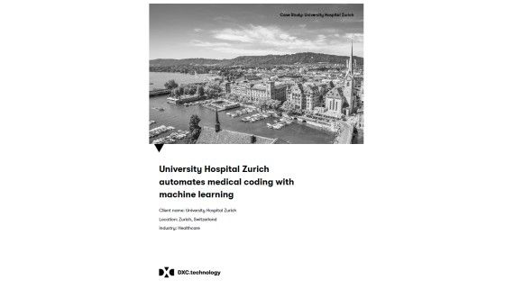 University Hospital Zurich automates medical coding with machine learning - Foto: DXC