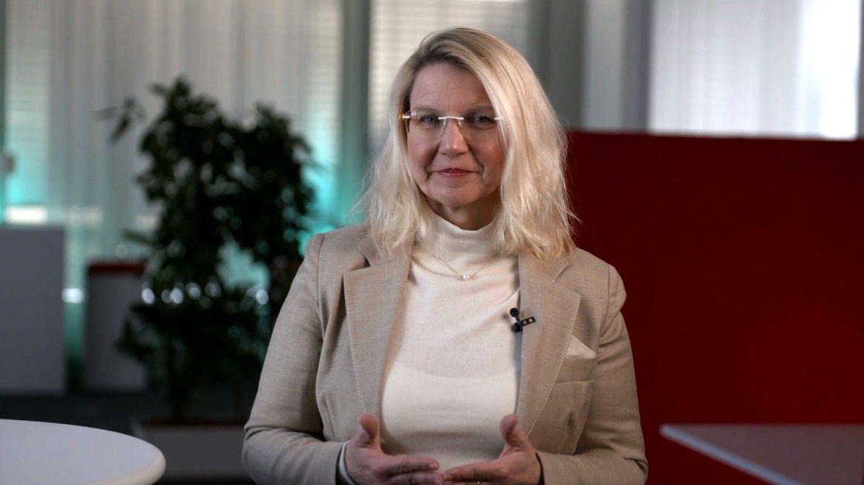 Hanna Hennig, CIO von Siemens, sprach auf den Hamburger IT-Strategietagen 2021.