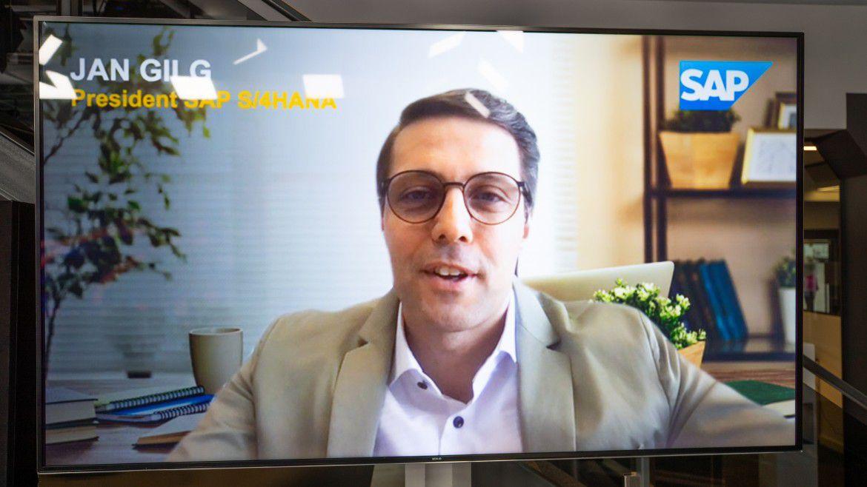 Referent auf den Hamburger IT-Strategietagen 2021: Jan Gilg, President SAP S/4HANA.
