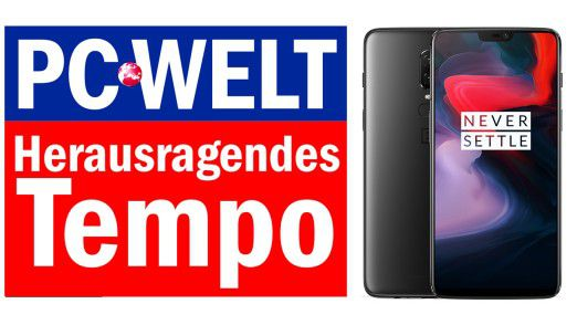 OnePlus 6 Herausragendes Tempo