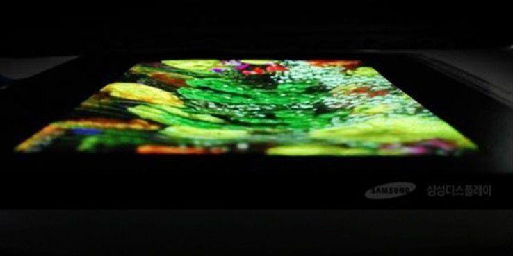 Samsung experimentiert schon lange mit faltbaren und biegsamen Displays.