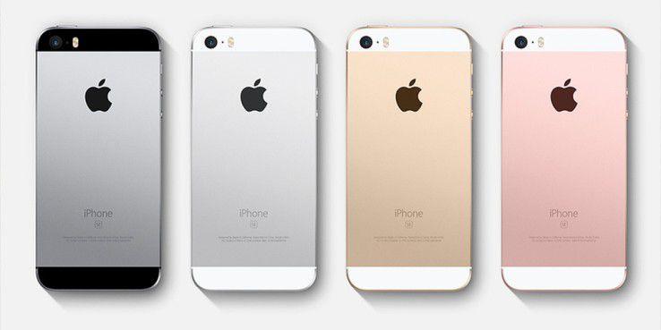 Das iPhone SE setzt auf das vom iPhone 5(S) bekannte Design.