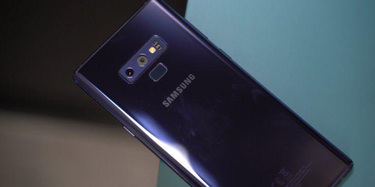 Galaxy Note 9 im Glas-Design und Dual-Kamera