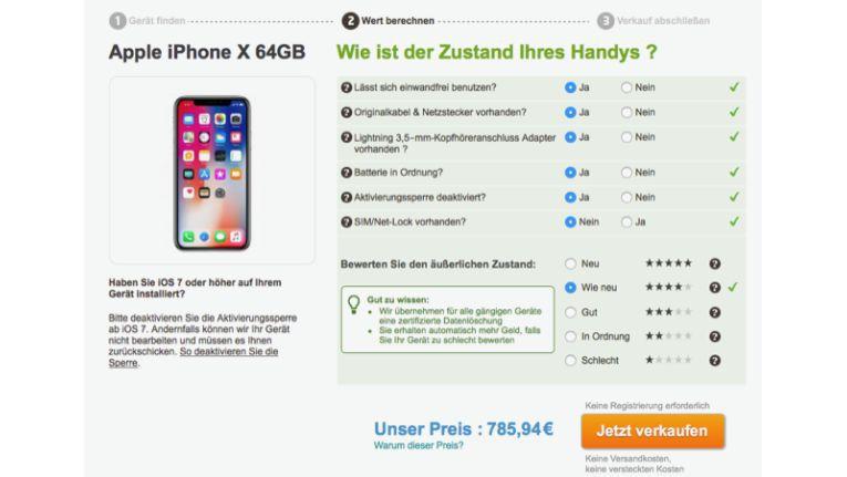 wert gebrauchtes iphone 4