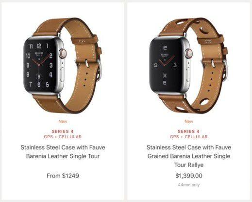 Teure Uhren gibt es bei Apple nach wie vor. Leider (noch) keine schnellen Autos …