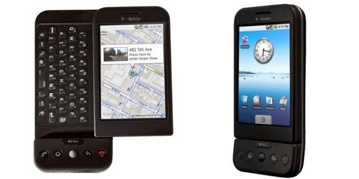 T-Mobile G1 kam in Deutschland am 2. Februar 2009 auf den Markt