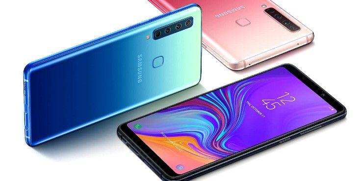 Samsungs Galaxy A9 kommt mit vier Kameras!