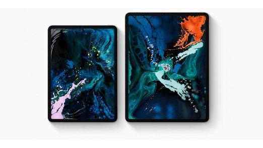 Das iPad Pro erscheint in zwei verschiedenen Größen: 11 und 12,9 Zoll.