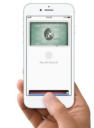 Namhafte Kreditkartenunternehmen unterstützen Apple Pay.