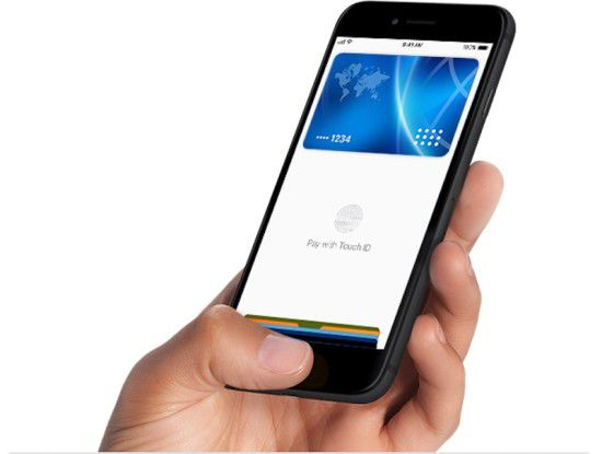 Per Touch-ID oder Face-ID werden Zahlungen autorisiert. Das macht Apple Pay zu einer recht sicheren Zahlungsmethode.