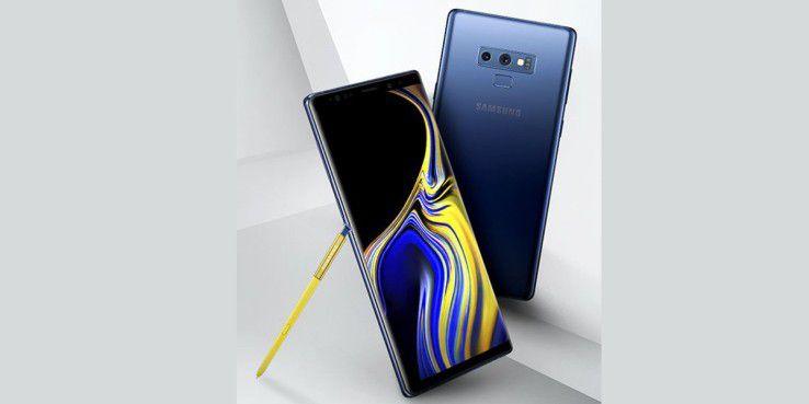 Platz 3: Samsung Galaxy Note 9