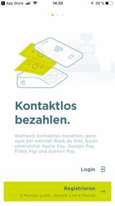 Boon: Nur drei Monate gratis. Ob es die Sparkasse bis dahin schafft?