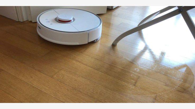 Fußboden Wohnung Xiaomi ~ Saugroboter mit top preis leistung xiaomi roborock s im