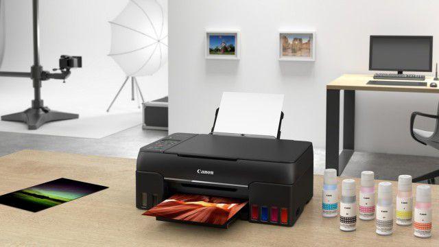 Canon-Pixma-G550-und-Pixma-G650-Fotodrucker-mit-nachf-llbaren-Tintentanks