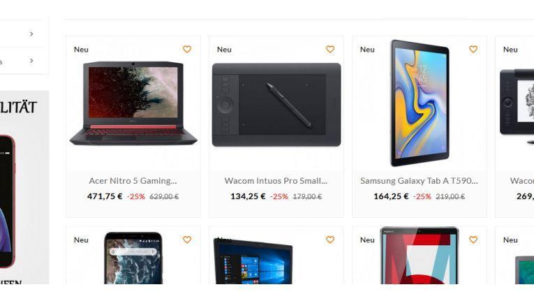 Fake-Shop: Vorsicht vor Notebooksbilliger-angebot.net