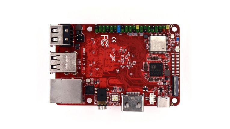 Rock Pi X: Flotter Pi-Klon mit Intel-CPU