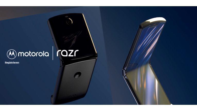 Motorola Razr: Das Kult-Handy erhält eine Neuauflage mit Falt-Display