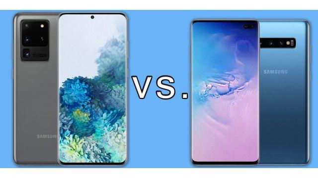 Vergleich: Samsung Galaxy S20 vs. Galaxy S10?
