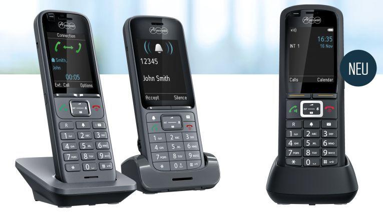 Mobile Telefonie im Unternehmen: Auerswald erweitert COMfortel IP-DECT-Serie