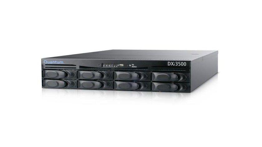 Quantum DXi3500: Das Disk-Backup-System ist in vier Konfigurationen mit bis zu 4,2 TByte Kapazität erhältlich. (Quelle: Quantum)