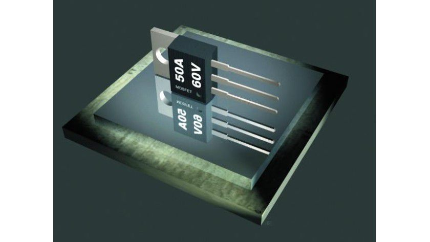 Power-MOSFET für schnelle und induktive Schaltanwendungen. Foto: First Components