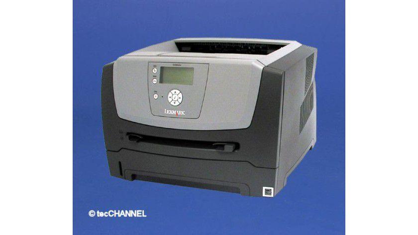 Lexmark E450dn: Der Drucker ist serienmäßig mit einer Duplexeinheit ausgestattet.