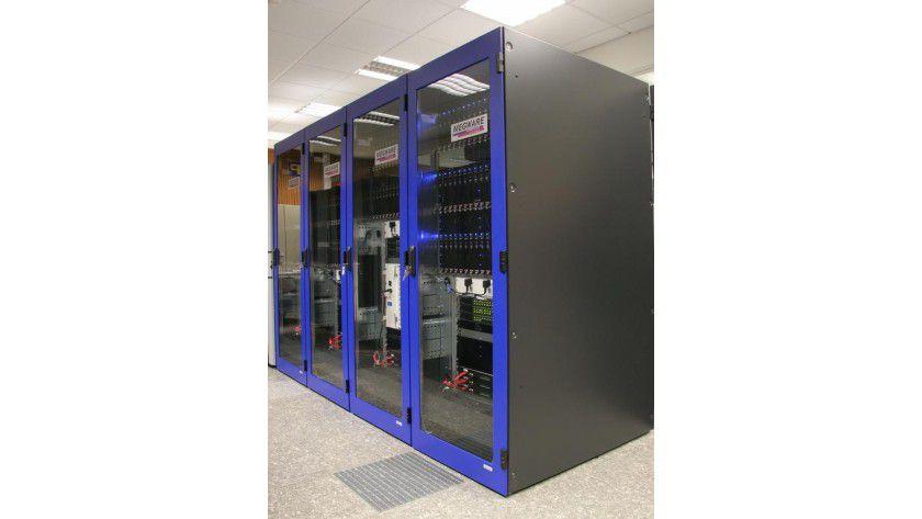 Cluster-System von MEGWARE Foto: GWDG