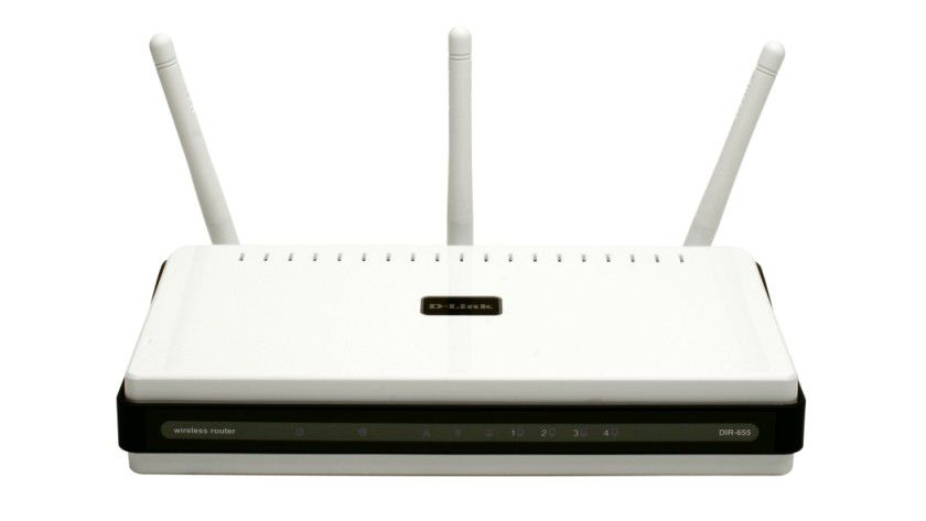 Schnell und schick: Der neue DIR-655 von D-Link bietet WLAN nach Draft-N und Gigabit in LAN und WAN.