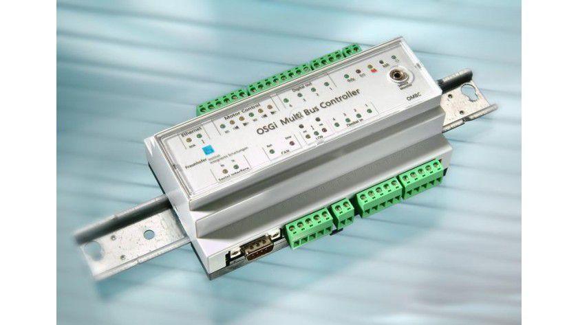 Ein neuartiges Monitoring-System entlarvt Stromfresser, bevor es teuer wird. Grundlage ist ein Hutschienenmodul-Server, der in jeden Sicherungskasten passt. Foto: Fraunhofer IIS