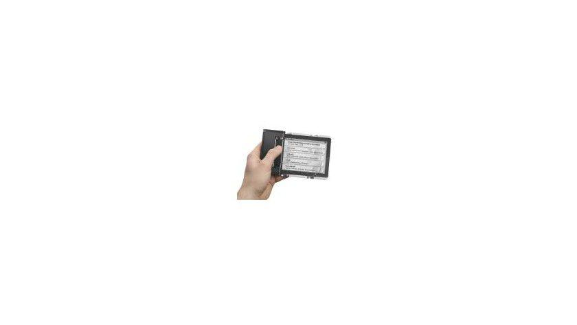 VIDEO: Bereits 2005 hat Philips Polymer Vision sein mobiles Lesegerät Readius demonstiert. (Quelle: Polymer Vision)