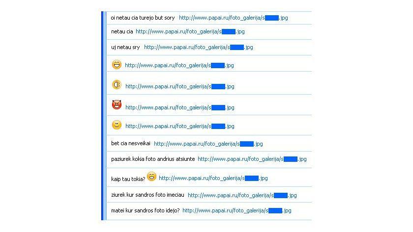 Auf Opfersuche: Der Wurm spammt die Kontakte mit Links zu. (Quelle: F-Secure)