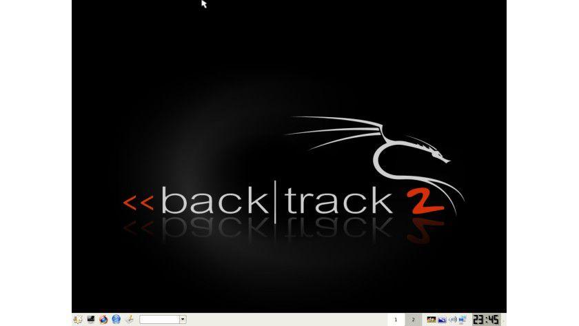 Die Sicherheitsdistribution: Bei BackTrack 2.0 ist sogar das Logo gelungen.