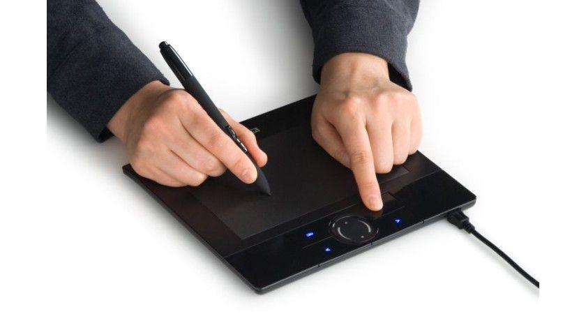 Mausersatz?: Das neue Stifttablett von Wacom kann vor allem unter Vista und MacOS beeindrucken. (Quelle: Wacom)