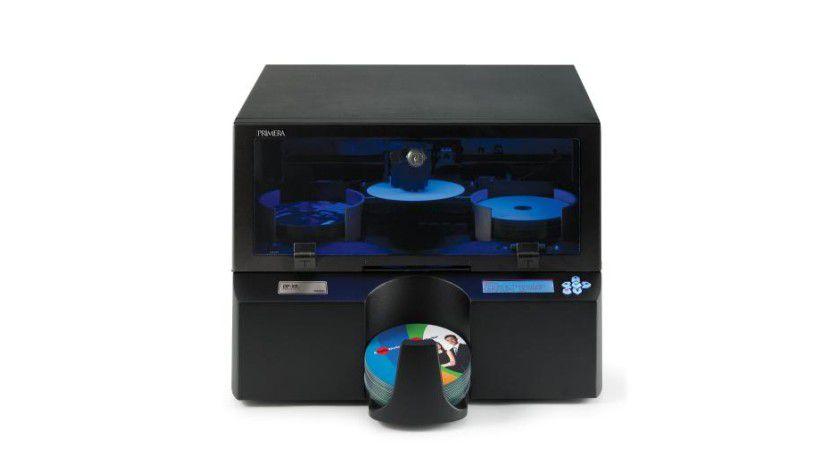 DP-XRn: Der netzwerkfähige Disc Publisher ist gegen Aufpreis mit Blu-Ray-Laufwerk erhältlich. (Quelle: Primera)