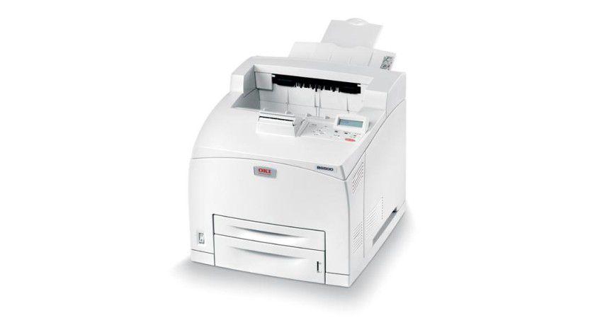 Oki B6500: Der neue monochrome Laserdrucker soll bis zu 43 Seiten pro Minute produzieren. (Quelle: Oki)