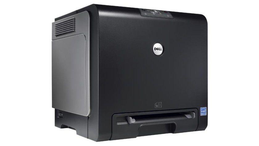 Colour Laser Printer 1320c: Der kompakte Farblaser soll bis zu zwölf Farbseiten pro Minute produzieren. (Quelle: Dell)