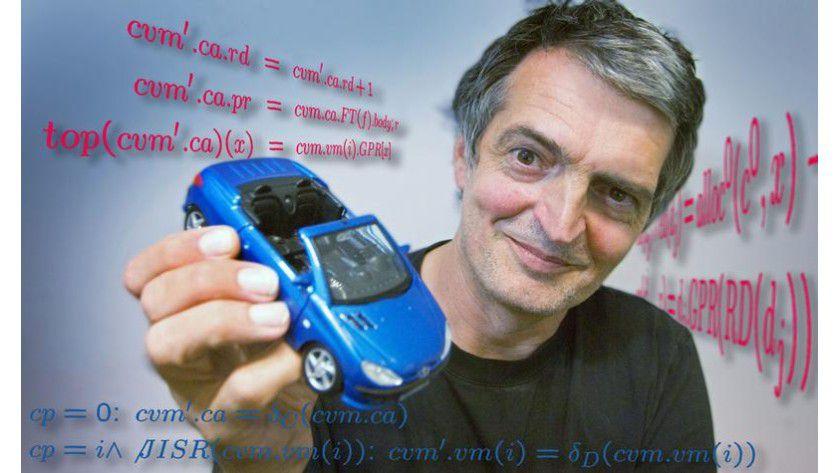 Prof. Wolfgang Paul (Uni des Saarlandes) leitet das Verisoft-Forschungsprojekt. Foto: Bilderwerk