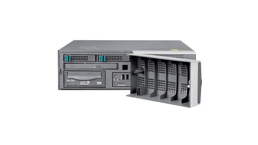 Sparbüchse: Laut FSC ist der Primergy TX120, der energiesparsamste, leiseste und kompakteste Standard-Server der Welt. (Quelle: FSC)