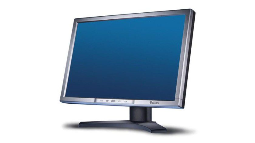 Belina 2485 S1W: Das 24-Zoll-Display arbeitet mit WUXGA-Auflösung. (Quelle: Maxdata)