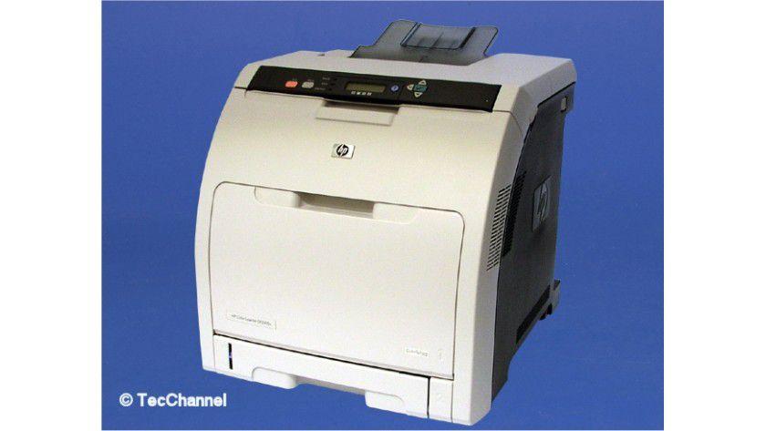 HP Color LaserJet 3505n: Farblaser für kleine Arbeitsgruppen.