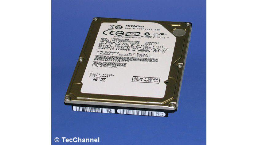 Hitachi Travelstar 7K200 HTS722020K9SA00: 200 GByte Kapazität