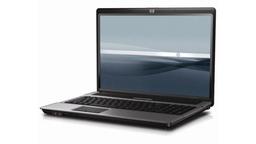HP Compaq 6820s: Das 17-Zoll-Display arbeitet je nach Modell mit WXGA- oder WXGA+-Auflösung. (Quelle: Hewlett Packard)