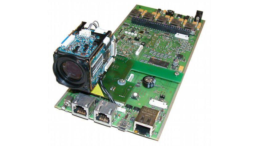Blick in eine Smartcam, Prototyp. Foto: Bernhard Rinner